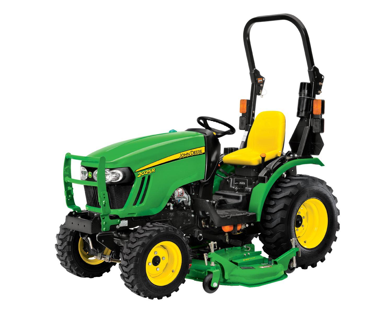 John Deere Compact Tractor Attachments : John deere compact utility tractors true north equipment