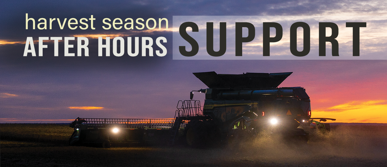 Harvest Season After Hours Support