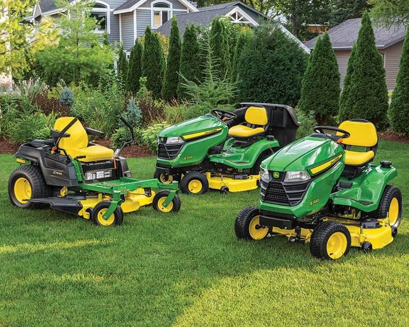 Riding Lawn Equipment Sales